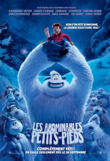 Affiche du film Les abominables petits-pieds