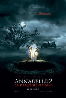 Affiche du film Annabelle 2: La création du mal