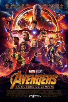 Affiche du film Avengers: La guerre de l'infini