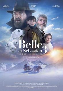 Affiche du film Belle et Sébastien 3, le dernier chapitre