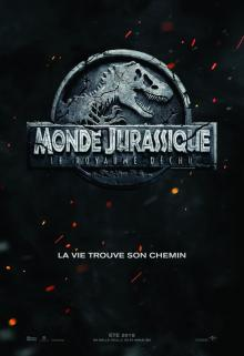 Affiche du film Monde Jurassique: Le royaume déchu