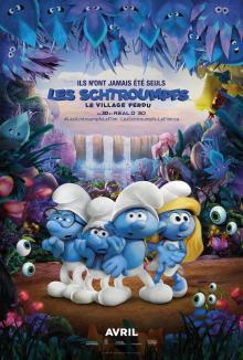 Affiche du film Les Schtroumpfs : Le village perdu